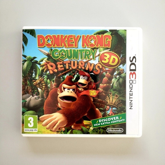 Donkey Kong Returns 3d Nintendo 3ds 2ds Europeu