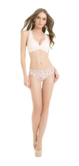 34579 Pack 3 Bikinis De Algodon Marca Ilusion Original