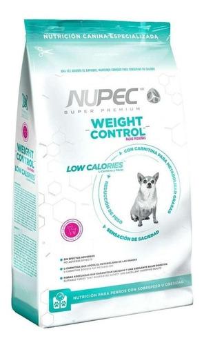 Imagen 1 de 1 de Alimento Nupec Adulto Weight Control Razas Pequeñas 8 Kg.