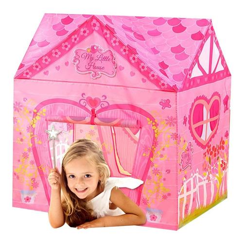Carpa Para Nenas Infantil Ideal Pijamada Zona De Juegos Rosa