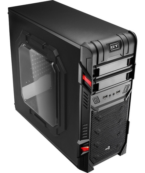 Gabinete Gamer Mid Tower Gt Window En58683 Aerocool