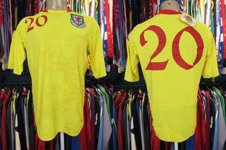 País De Gales 2007 Camisa Reserva Tamanho 3g Número 20.