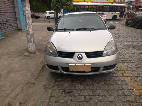 Renault Clio1.016v Authentique Hi-flex 5p 2008 Aceito Oferta