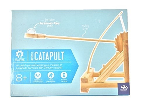 Da Vincis Catapult Diy Build-it-yourself Kit De Madera 8