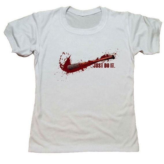 Remera The Walking Dead Negan Blanca 12 Hotarucolections