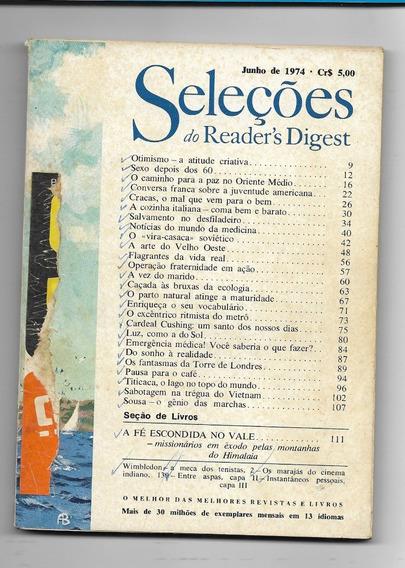 *sll* Revista Seleções Do Readers Digest - Junho De 1974