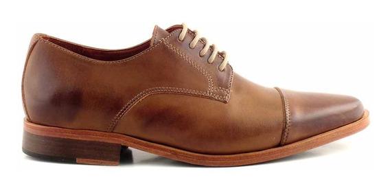 Zapato Hombre Cuero Briganti Vestir Acordonado - Hcac00910