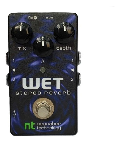 Pedal Neunaber Effects Technology Wet Reverb Stereo