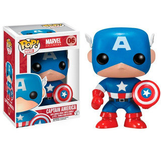 Funko Pop Marvel Capitan America Bobble 06 (2224)