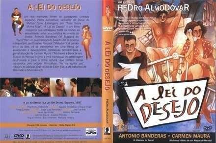 Dvd A Lei Do Desejo Filme Pedro Almodóvar