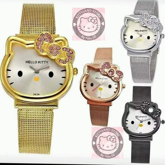 Hermoso Reloj Hello Kitty