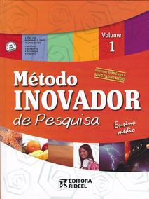 Coleção Método Inovador De Pesquisa 4 Livros - Cd