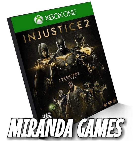 Injustice 2 Xbox One Edição Lendária Midia Digital
