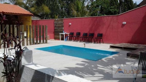 Chácara Residencial À Venda, Jardim Rosolém, Hortolândia. - Ch0066