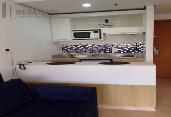 03485 - Flat 1 Dorm, Centro - Barueri/sp - 3485