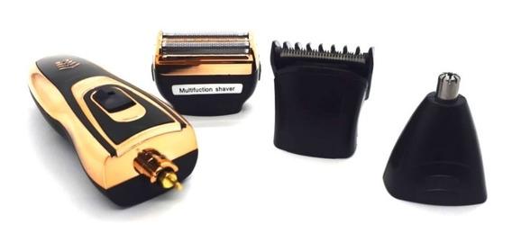 Kit 2 Barbeador Elétrico, Máquinas De Barbear, Aparador De Pelos, Maquina De Cortar Cabelo 3 Em 1 Daling