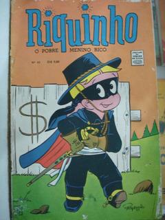 Revista - Riquinho - O Pobre Menino Rico - Número 43