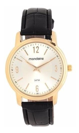 Relógio Mondaine Análogo Pul. Couro 83276lpmvdh1