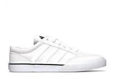 Tenis adidas Casual Blanco/negro Q34345 Original