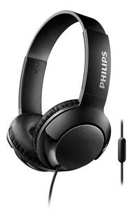 Auriculares Vincha Philips Con Micrófono Shl3075bk/00