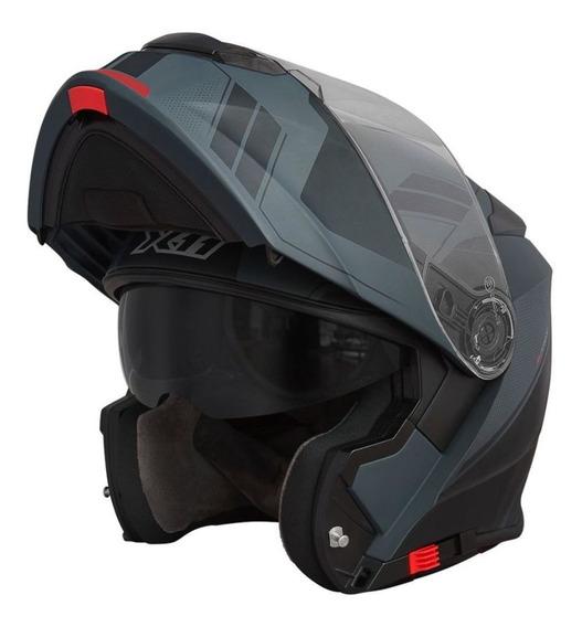 Capacete X11 Turner Trooper Articulado Moto Motoqueiro