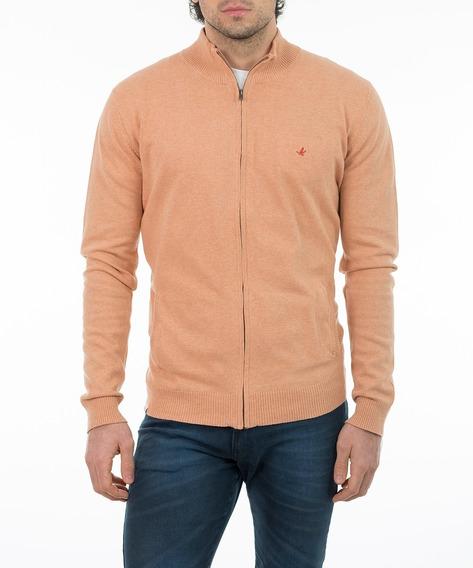 Cardigan Saco Saquito Sweater Hombre Algodon Tejido Brooksfield