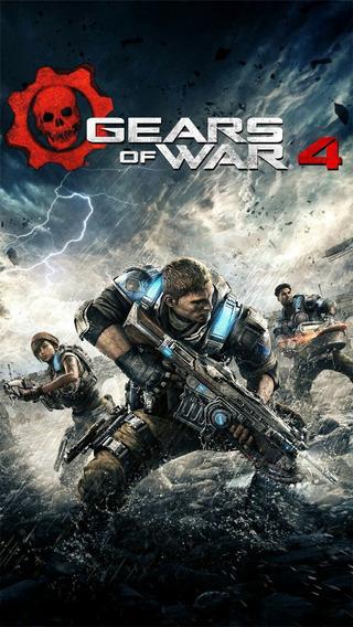 Gears Of War 4 + 1 Jogos (mídia Física) Pc - Dvd