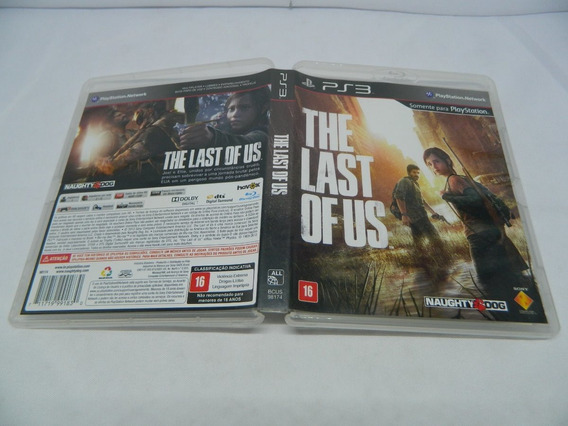 The Last Us Original Para Playstation 3 - Ps3 Mídia Física