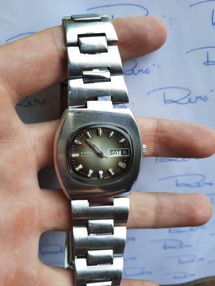 Relógio Edox - Automático - Lindo - Antigo - Suiço - R593