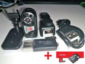 Camara Ip Robo P2p E Wi-fi +sd 16gb (original)