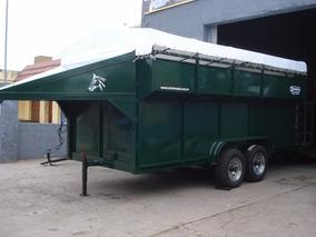 Minimetal Fabrica Trailer Para 10 Equinos