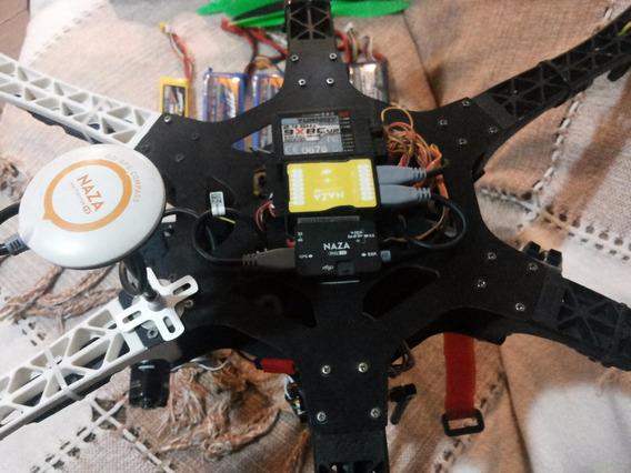 Drone Hexa F550 Completo Com Gps Naza