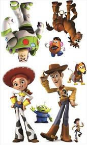 Kit Número 2 - Display Toy Story 8 Peças