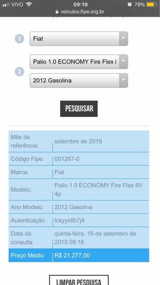 Fiat Palio Fire Flex 8v 4p