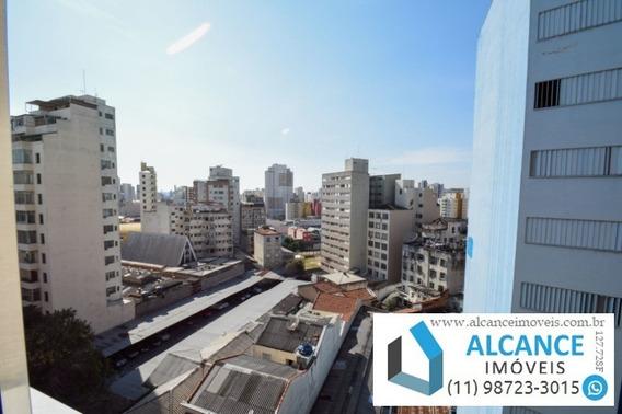 Apartamento De 1 Dormitório, Semi-mobiliado Com 53,40 M² Muito Bem Localizado Perto Do Metrô - Santa Cecília /sp   Alcance Imóveis - Ap00184 - 34261157