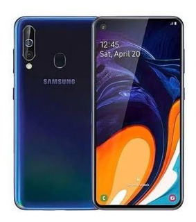 Celular Samsung A60 Axul Blue Movistar