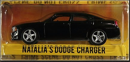 Greenlight Dodge Charger + Nascar Chevy Jeff Burton