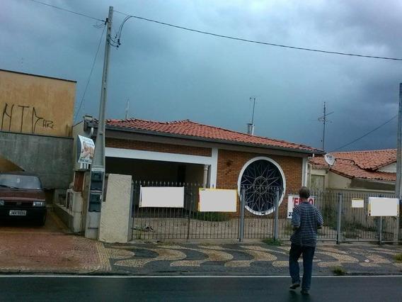 Casa Residencial À Venda, Vila Teixeira, Campinas. - Ca5563