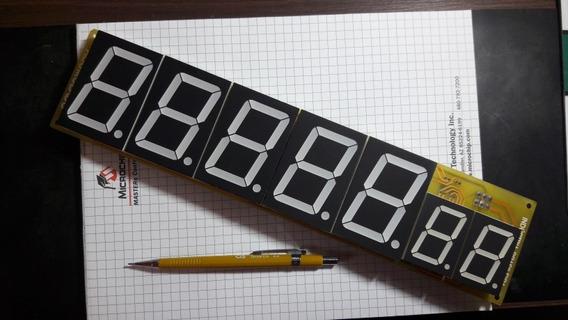 Display Arduino Modulo Serial Rs232 7 Segmentos 7 Digitos