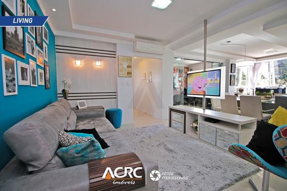 Acrc Imóveis - Apartamento De Alto Padrão Semi Mobiliado Para Venda No Bairro Da Velha - Ap03192 - 34784689