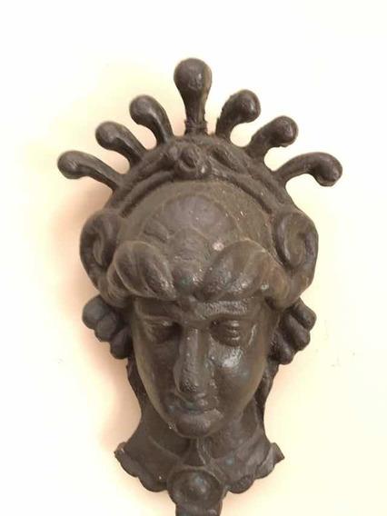 Escultura Em Bronze Deusa Grega 35x22 Cor Bronze Betum