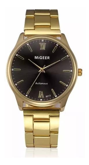 Relógio De Pulso Masculino Luxo Da Moda