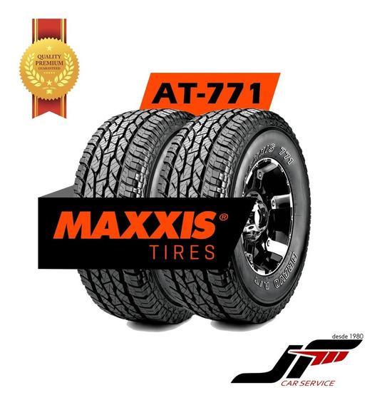 Kit De 2 Pneus Maxxis 265/75r16 116t At-771 Letras Brancas