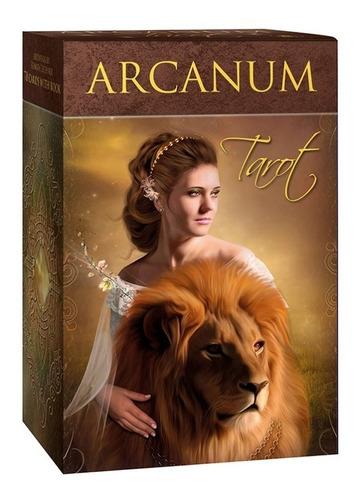 Tarot Arcanum, Las Cartas Están En Ingles Con Libro Original