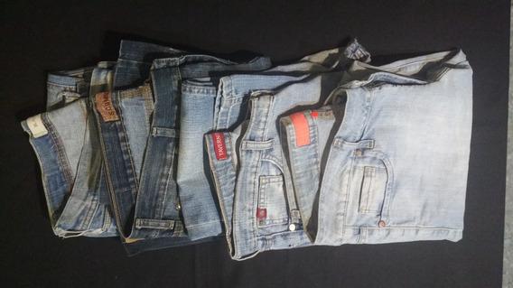Lote De Pantalones De Jeans