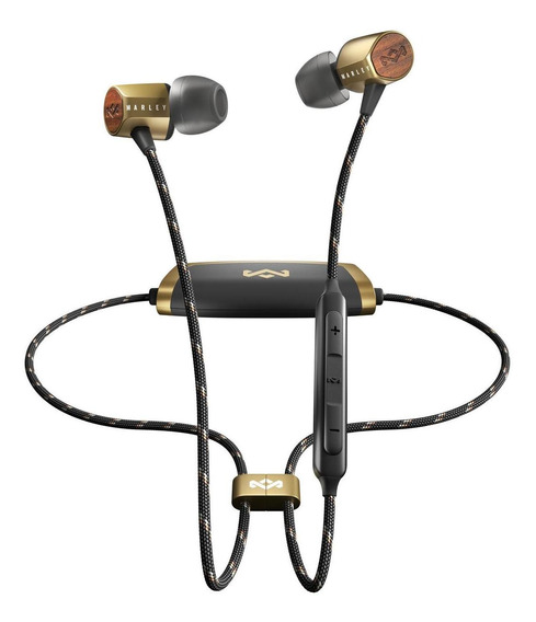 Audífonos House Of Marley Uplift 2 Bluetooth In-ear Brass Co