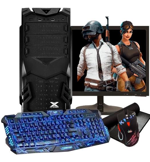 Pc Gamer Completo Barato / Hd 500gb/ Geforce/ Tela 20