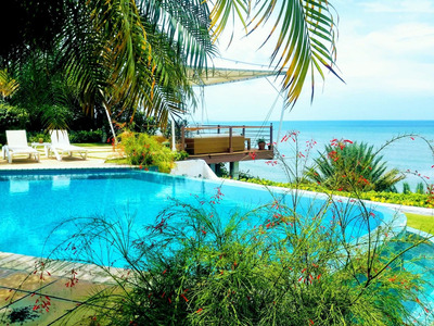 Rento Espectacular Y Lujosa Villa Frente Al Mar, Punta Barco
