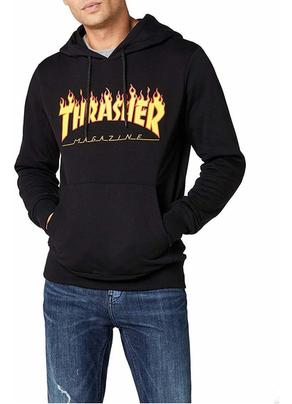 Sudadera Con Capucha Thrasher Flame
