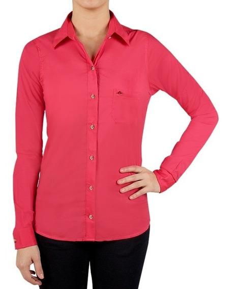 Camisa Montagne Ludmila M/larga Mujer . Super Oferta